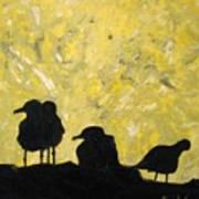 Morning Birds Poster