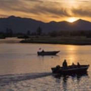 Morning Fishing 4 Poster