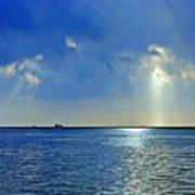 Morning Has Broken Galveston Bay Poster