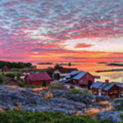 Morning In The Archipelago Sea Poster