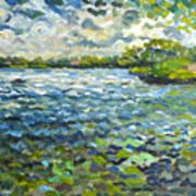 Morning Light At Lake Ida Poster