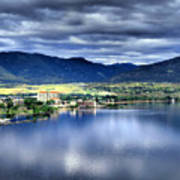 Morning Light On Okanagan Lake Poster