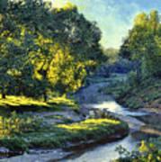 Morning Light on the Creek Poster