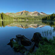 Morning Meditation - Lake Irwin Poster