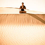 Morning Meditation Poster