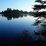 Morning On Chad Lake Poster