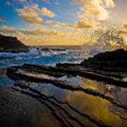 Morning On Oahu Hawaii Poster
