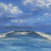 Morning Waves, 9x12, Oil, '08 Poster