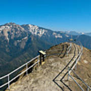 Moro Rock Sequoia National Park Poster