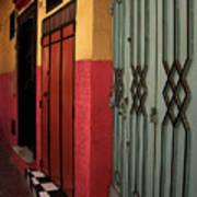 Moroccan Doors Ll Poster