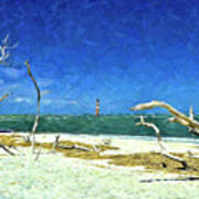 Morris Island Lighthouse 2 Poster