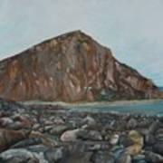 Morro Rock Poster
