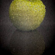 Mosaic Apple Poster