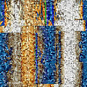 Mosaic Magic Poster
