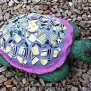 Mosaic Turtle Poster