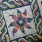 Mosaico Pavimentale Poster