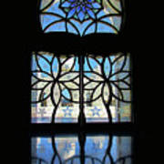 Mosque Foyer Window 2 Poster