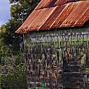 Moss Covered House-st Lucia Poster