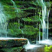 Mossy Falls - 2981 Poster