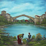 Mostar Bridge Story Poster