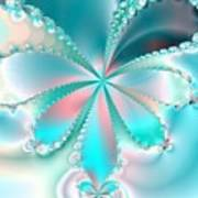 Mother Of Pearl Butterfly Poster