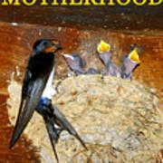 Motherhood Inspirational Poster