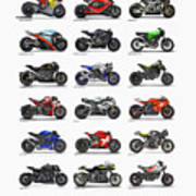 Motorcycle Concepts 2017-2018 Poster