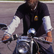 Motorcycle Minister Poster
