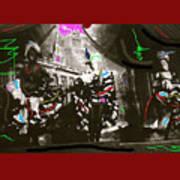 Moulin Rouge Homage Diamond Tooth Gerties Chorus Line Dawson City Yukon Territory Canada 1977-2008 Poster