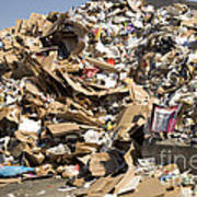 Mound Of Recyclables Poster
