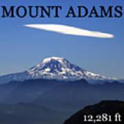 Mount Adams Poster  Poster