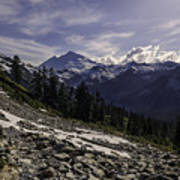 Mount Baker From The Lake Ann Trail 2 Poster
