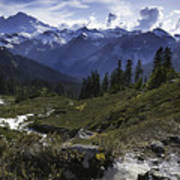 Mount Baker From The Lake Ann Trail Poster