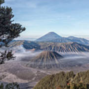 Mount Bromo National Park - Java Poster