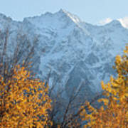 Mount Currie Autumn Poster