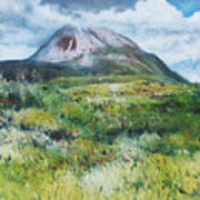 Mount Errigal County Donegal Ireland 2016 Poster
