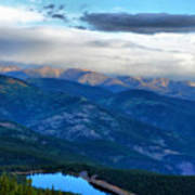 Mount Evans Painterly 2  Poster