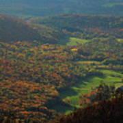 Mount Greylock Foliage View Poster