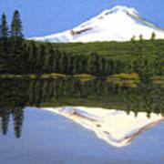 Mount Hood-trillium Lake Poster