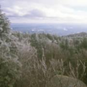 Mount Monadnock Ice Storm Poster