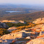 Mount Monadnock Summit View Poster