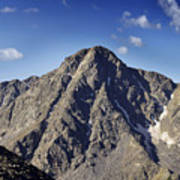 Mount Of The Holy Cross In The Sawatch Range Of The Colorado Rockies Poster