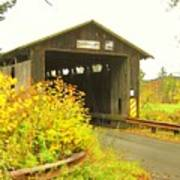 Mount Orne Covered Bridge Poster