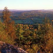 Mount Philo Foliage View Poster