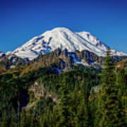 Mount Rainier - Eastside Poster