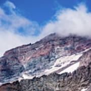 Mount Rainier Closeup Poster
