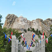 Mount Rushmore Entrance  8713 Poster