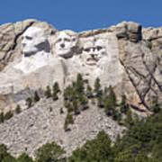 Mount Rushmore Poster