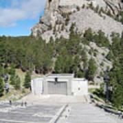Mount Rushmore National Monument Amphitheater South Dakota Poster