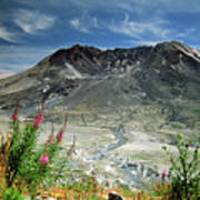 Mount Saint Helens Caldera Poster